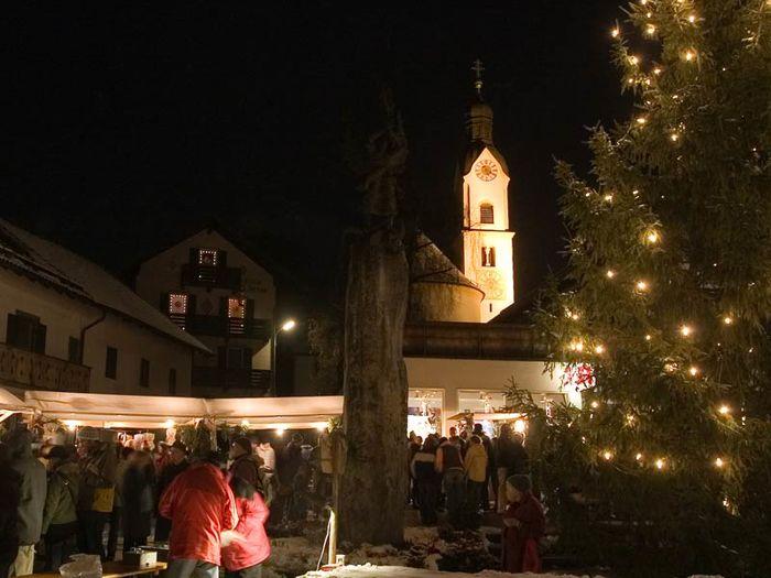 Weihnachtsmarkt Oberammergau.Weihnachtsmarkt Oberammergau